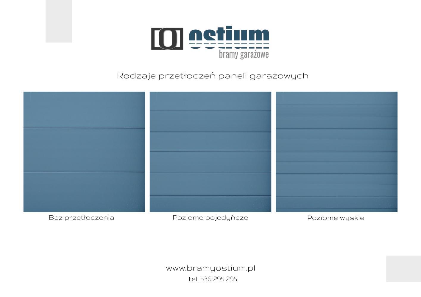 Producent bram garażowych Ostium